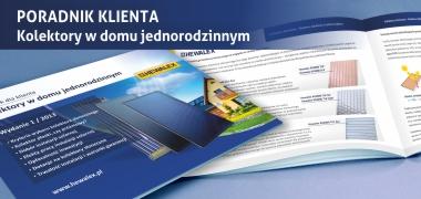 Poradnik Klienta - kolektory słoneczne w domu jednorodzinnym